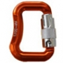 Mini Carabiner for 25 mm webbing - triple safety lock - 55 [gr]