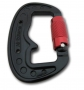 3 Ton Twist Lock Carabiner - double safety lock - 73gr.