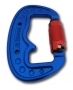 3 Ton Twist Lock Carabiner - triple safety lock - 73gr.